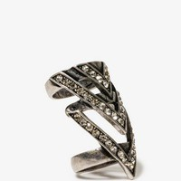 Chevron Knuckle Ring | FOREVER 21 - 1021721181