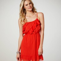 AEO Women's Ruffled Chiffon Dress