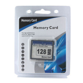 128MB CF Compact Flash Speicherkarte (cmc017) - US$11.80