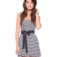 Seashore Stripes Dress | FOREVER 21 - 2000023975