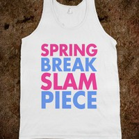 Spring Break Slam Piece Tank Top