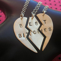 BEST BITCHES Mnage  Trois/THREESOMEBrass Split by MetalTaboo