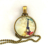 10% SALE Necklace Eiffel Tower Favors with Chain Necklace  Mother Pendant Necklaces Gift