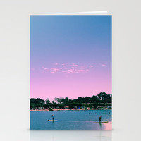 Beach Livin Stationery Cards by Aja Maile | Society6