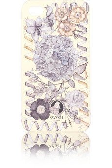 Swash|Posey printed iPhone 4 case|NET-A-PORTER.COM