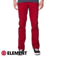 Element Jeans - Element Boom Jeans - Jester Red