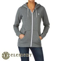Element Hoodies - Element Erin Zip Hoody - Grey Heather