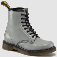 Dr Martens 1460 GREY MILLED SMOOTH - Doc Martens Boots and Shoes