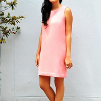 Agatha Sleeveless Shift Dress