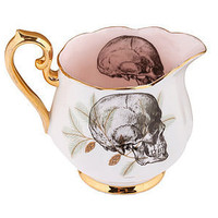 upcycled skull design vintage cream jug by melody rose | notonthehighstreet.com
