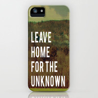 Leave Home  iPhone Case by Rachel Burbee | Society6