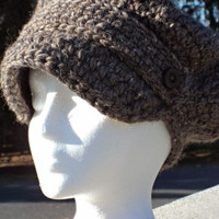 Wool Newsboy Hat by WendysWonders127 on Etsy