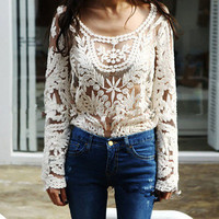Festival Boho Lace Shirt