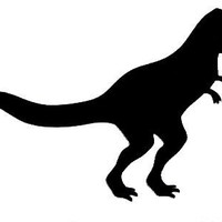 Dinosaur Chalkboard Decal - UK Seller | Luulla