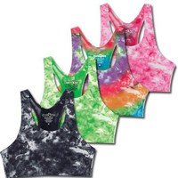 Sport It Tie Dye Bra Top