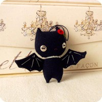 SALE - Halloween Bat Ornament PDF Pattern | Luulla