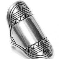 GYPSY WARRIOR - Tribal Shield Ring