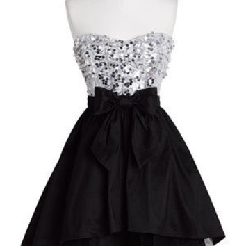 dELiAs > Strapless Exposed Tulle Dress > clothes > dresses > solid