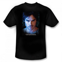 Vampire Diaries Damon Adult T-Shirt |
