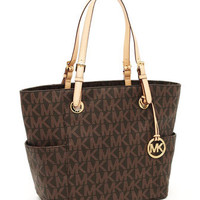 MICHAEL Michael Kors  Logo-Print Signature Tote - Michael Kors