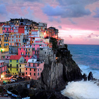 Special order for JoelCinque Terre Italy 24x36 by robertcrum