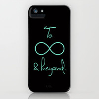 To Infinity and Beyond Tiffany Mint iPhone Case by RexLambo | Society6