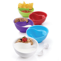 Obol®, the Never-Soggy Cereal Bowl with SpoonIt®