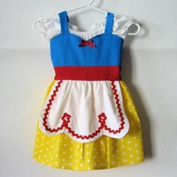 SNOW WHITE dress Disney princess inspired by loverdoversclothing