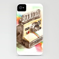 Vintage Polaroid SX-70 OneStep camera iPhone Case by Pinot | Society6