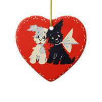 Vintage Valentine Ornament from Zazzle.com