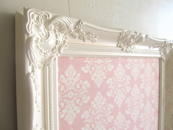MAGNET BOARD Magnetic Board Shabby Chic Nursery by ShugabeeLane