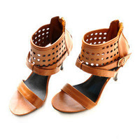 Leatherette Upper Stiletto Heel Gladiator Sandals Party Shoes.More Colors Available - $29.88
