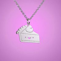 Happy Pie Slice Necklace
