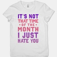 It&#x27;s Not &quot;That Time of the Month&quot; I Just Hate You (Junior) | HUMAN