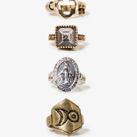Antique Ring Set | FOREVER 21 - 1020921548
