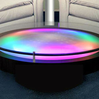 Modern Exclusive Led Light Cocktail Tables Different Effects - Interior Design Center