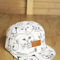 CMBK — CMBK Cat Hat 5 Panel (White)