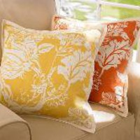 Wells Palampore Pillow
