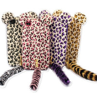 3D Cute Fur Plush Leopar...
