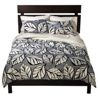Room Essentials Leaf Comforter - Black