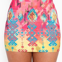 Tribal Bandage Skirt