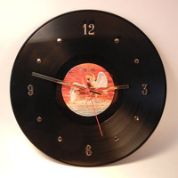 Led Zeppelin Vinyl Record Wall Clock Physical by recordsandstuff