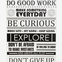 Urban Outfitters - Do Good Work Wall Decal