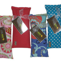 Eye Pillow gift SET four Hot  Cold Therapy Packs  by beckorama
