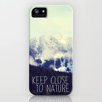 keep close to nature iPhone Case by Sylvia Cook Photography | Society6