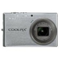 Nikon Coolpix S710 14.5MP Digital Camera with 3.6x Wide Angle Optical Vibration Reduction (VR) Zoom (Brilliant Silver)