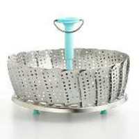 Martha Stewart Collection Vegetable Steamer, 11""