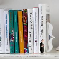 Minimalistic bookends Brackets for home by DesignAtelierArticle