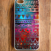 Galaxy Helix iPhone 5 Case, Geometric iPhone 4 &amp; 4S Case - Tribal iPhone Case