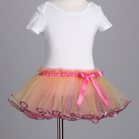 Meg Dana & Co. - Pink & Gold Sequin Tutu